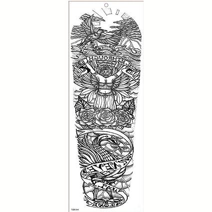 7pcs estilo del tatuaje pieza de Buda meditación Zen gran tatuaje ...