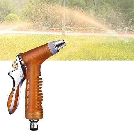 Pistola de Riego Manguera de Agua de jardín expansiva Manguera de jardín Pistola de pulverización Pistola de Alta presión Riego Boquillas (Size : Water Gun Set+15m Spring Tube): Amazon.es: Hogar