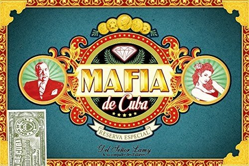 Mafia De Cuba Board Game