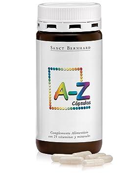 A-Z con 24 Vitaminas y Minerales - 150 Cápsulas: Amazon.es: Salud y cuidado personal
