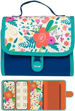 Estuche Milan Le Jardin Multipencilcase 19 Piezas: Amazon.es: Juguetes y juegos