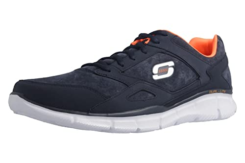 Skechers Mens Navy 'Equalizer Timepiece' Trainers 13