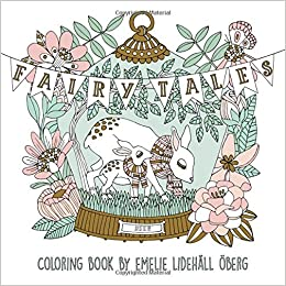 Fairy Tales Coloring Book: Published in Sweden as \