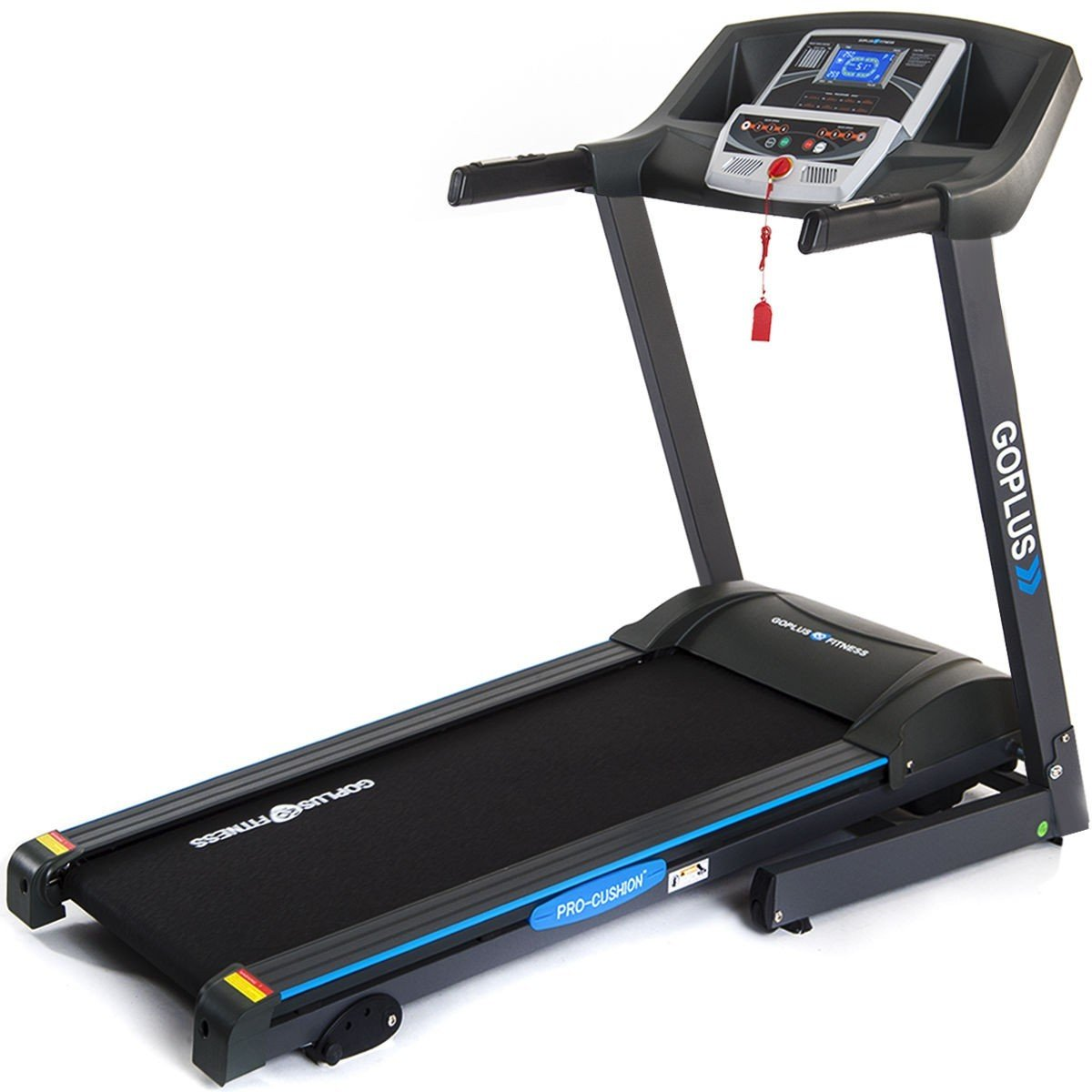 2.25 HP Folding Electric Treadmill Motorized Power Running Machine by Apontus