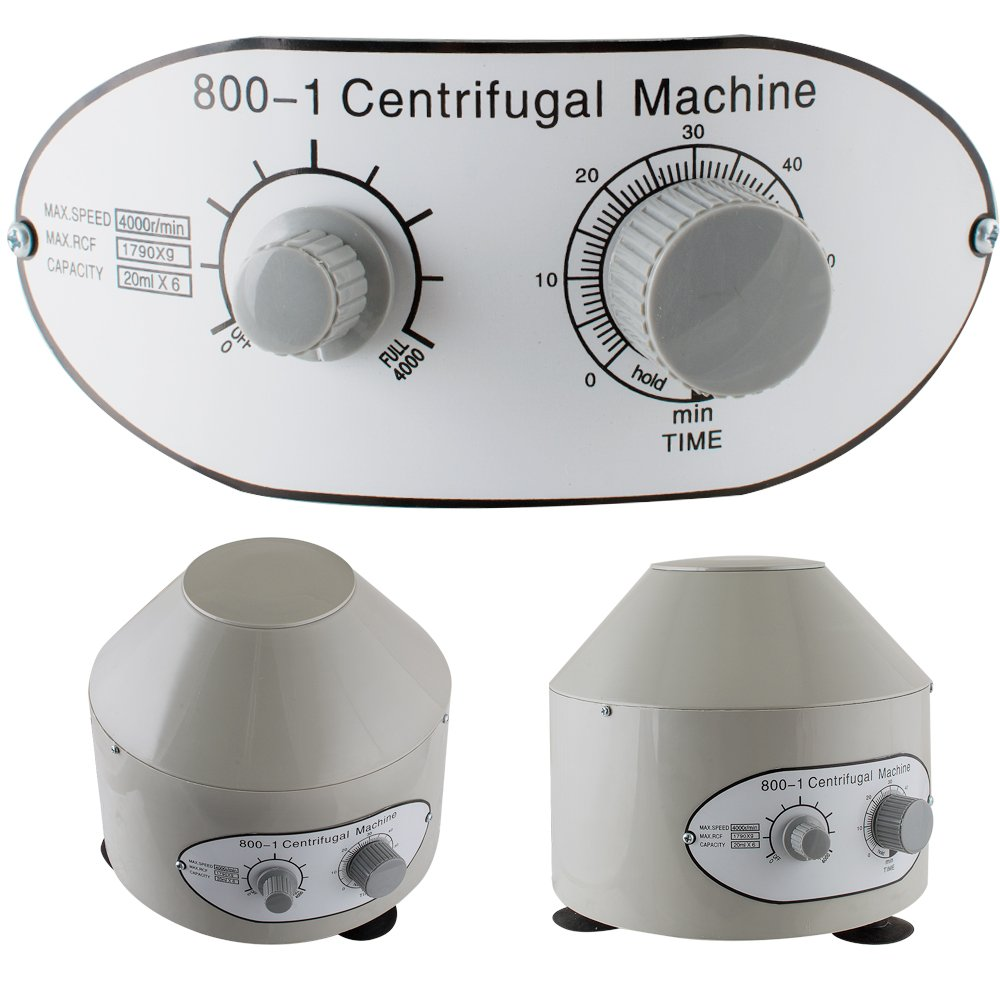 Lab Centrifuge Machine vinmax 4000rpm 110V Electric Centrifuge Practice Machine US Shipping