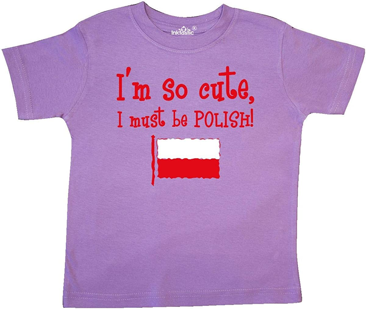 inktastic So Cute Polish Toddler T-Shirt