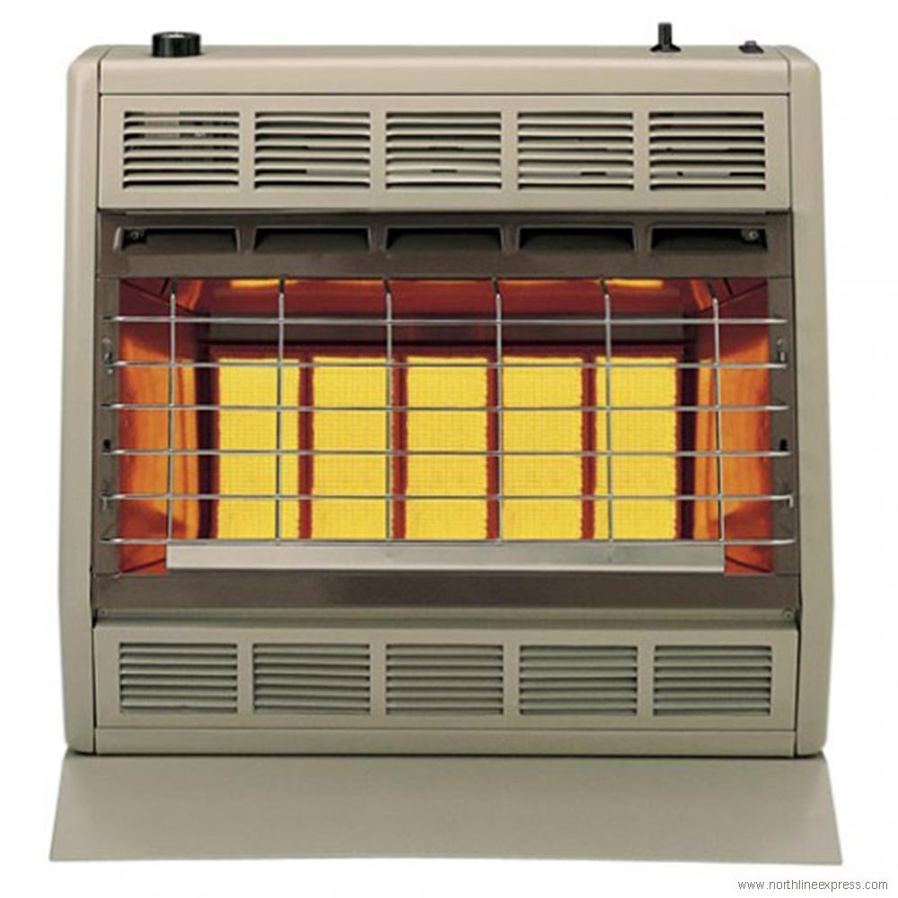 Empire Infrared Heater Natural Gas 30000 Btu Thermostatic Control Wall Thermostat Wiring
