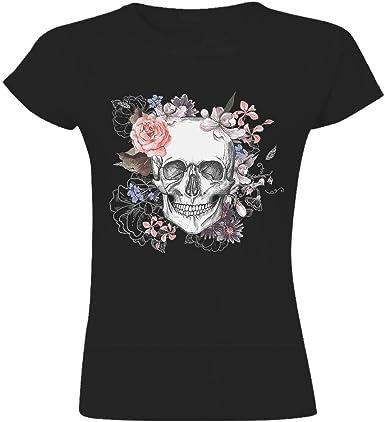 t-shirt tête de mort femme 8