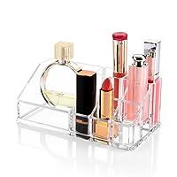 Acrilico trucco organizzatore, Zanbase Jewelry & Cosmetic Storage display Boxes per rossetto, spazzole, bottiglie