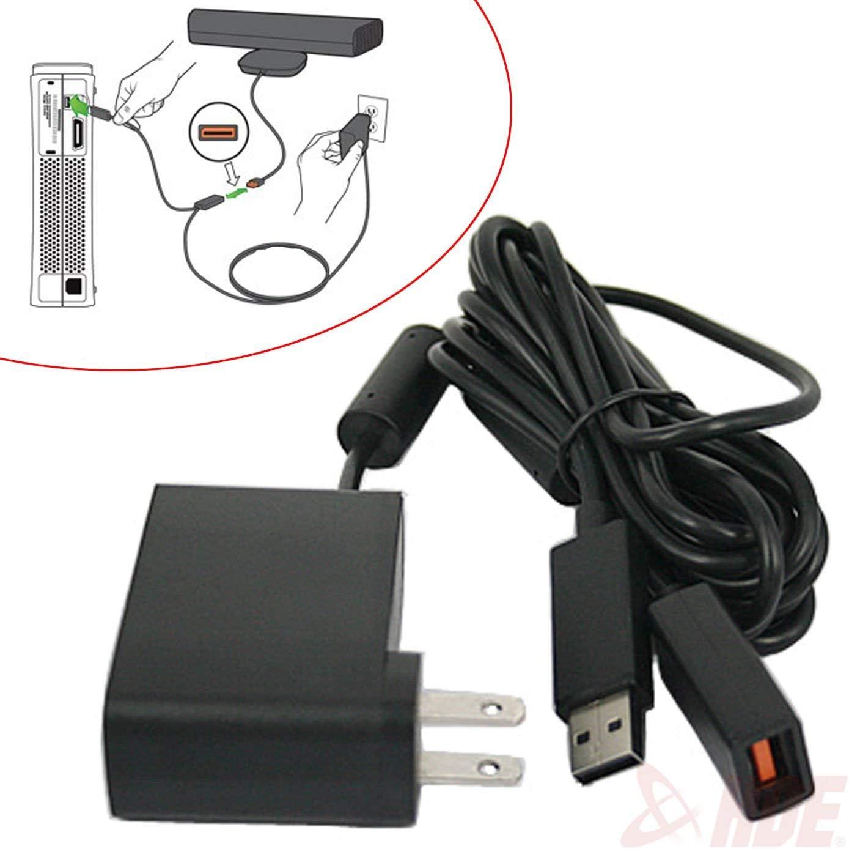 XBOX360KINECT 센서 컨버터 케이블 용 USB AC 어댑터 전원 공급 장치 코드(갱신)