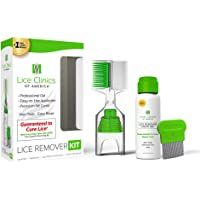 Lice Remover Kit Guaranteed to Cure Lice, Even Super Lice—Safe, Non-Toxic and Pesticide-Free (Lice Remover Kit)