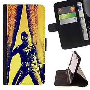 Momo Phone Case / Flip Funda de Cuero Case Cover - Bdsm Maks Hombre Mujer Pintura Piernas Arte - LG G4