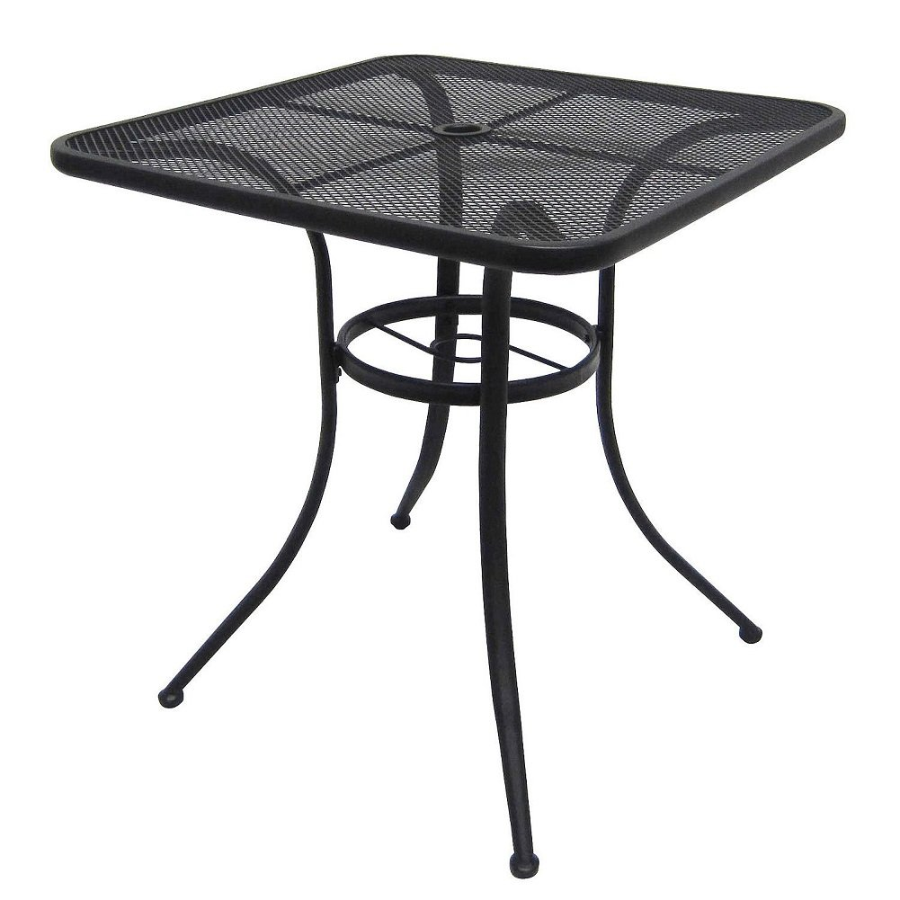 Commercial & Home Steel Mesh Bistro Table 28' Patio Outdoor