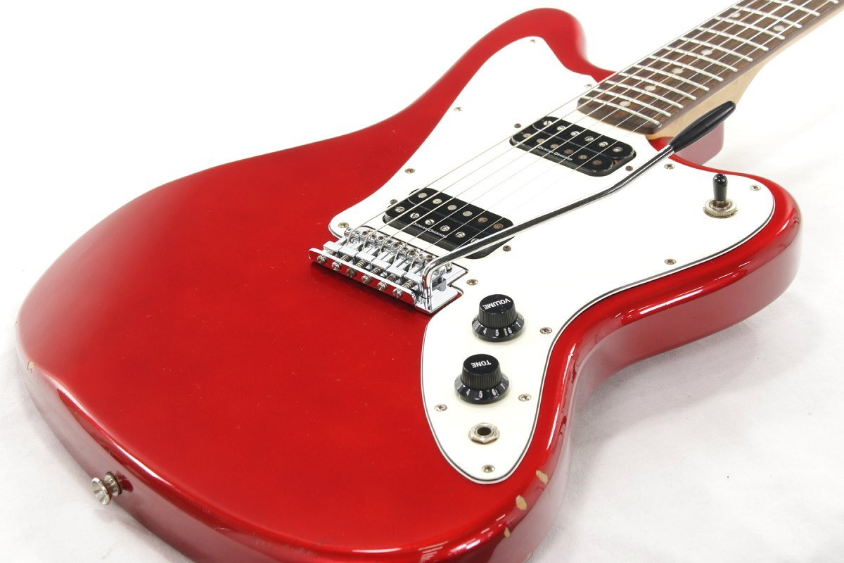 Squier by Fender/Jagmaster Candy Apple Red スクワイヤー B07DS8R8FK