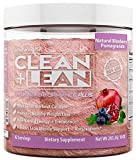 """CLEAN+LEAN NATURAL PERFORMANCE """"PLUS"""" by FitFarm USA: Ultra-Clean Workout Catalyst + Healthy Weight Loss Blend, Lean Muscle BCAA's, and Powerful Antioxidants- 100% NON-GMO Ingredients 42 Svgs, 10oz"""