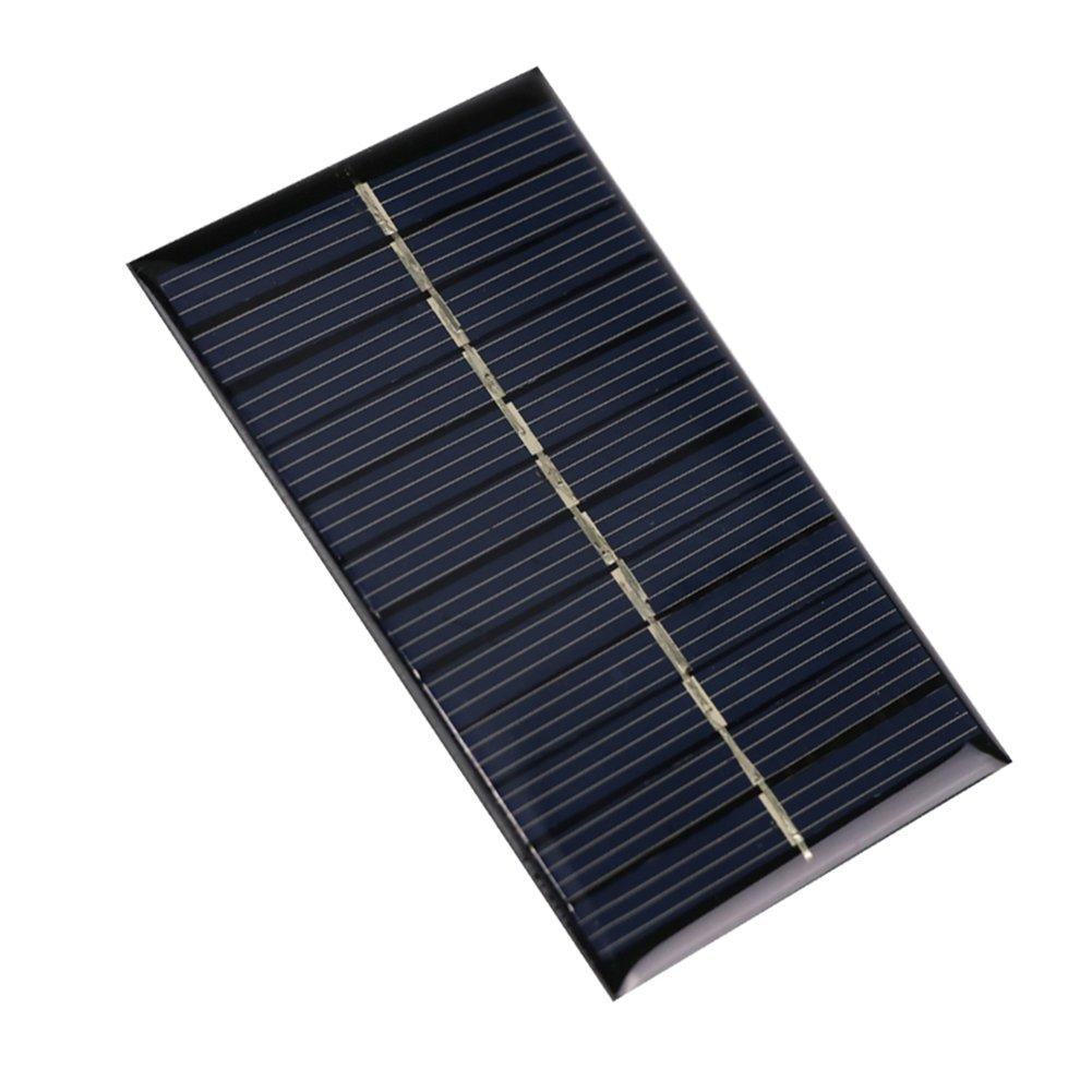 su-luoyu pannelli solari, 110 * 69 mm Mini 5 V 1.25 W Portable Solar Power Bank, ideale per caricare il cellulare e piccole DC batterie 110* 69mm Mini 5V 1.25W Portable Solar Power Bank