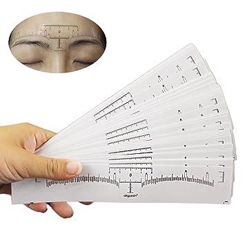 amazon com airgoesin 50pcs disposable adhesive eyebrow microblading