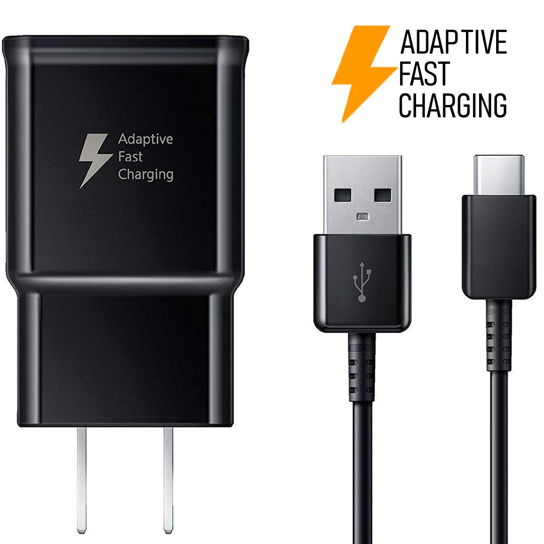 Amazon.com: Cargador rápido Samsung EP-TA20JBE y ...