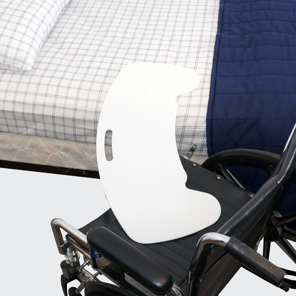 Curved Transfer Board Board for Bed, Wheelchair, Chair or Commode by SafetySure