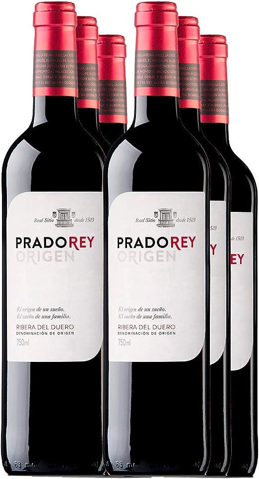 Vino pradorey roble - vino rosso - vino spagnolo- 6 bottiglie da 0.75 cl B072R423DT