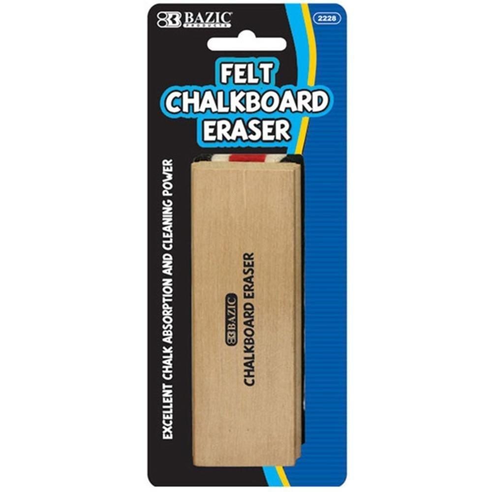 BAZIC Felt Chalkboard Eraser, Case Pack of 144