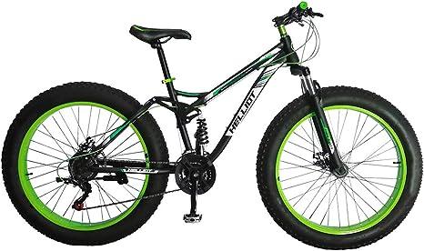 Helliot Bikes Fat Extreme Terrain 02 Bicicleta, Adultos Unisex, Verde ...