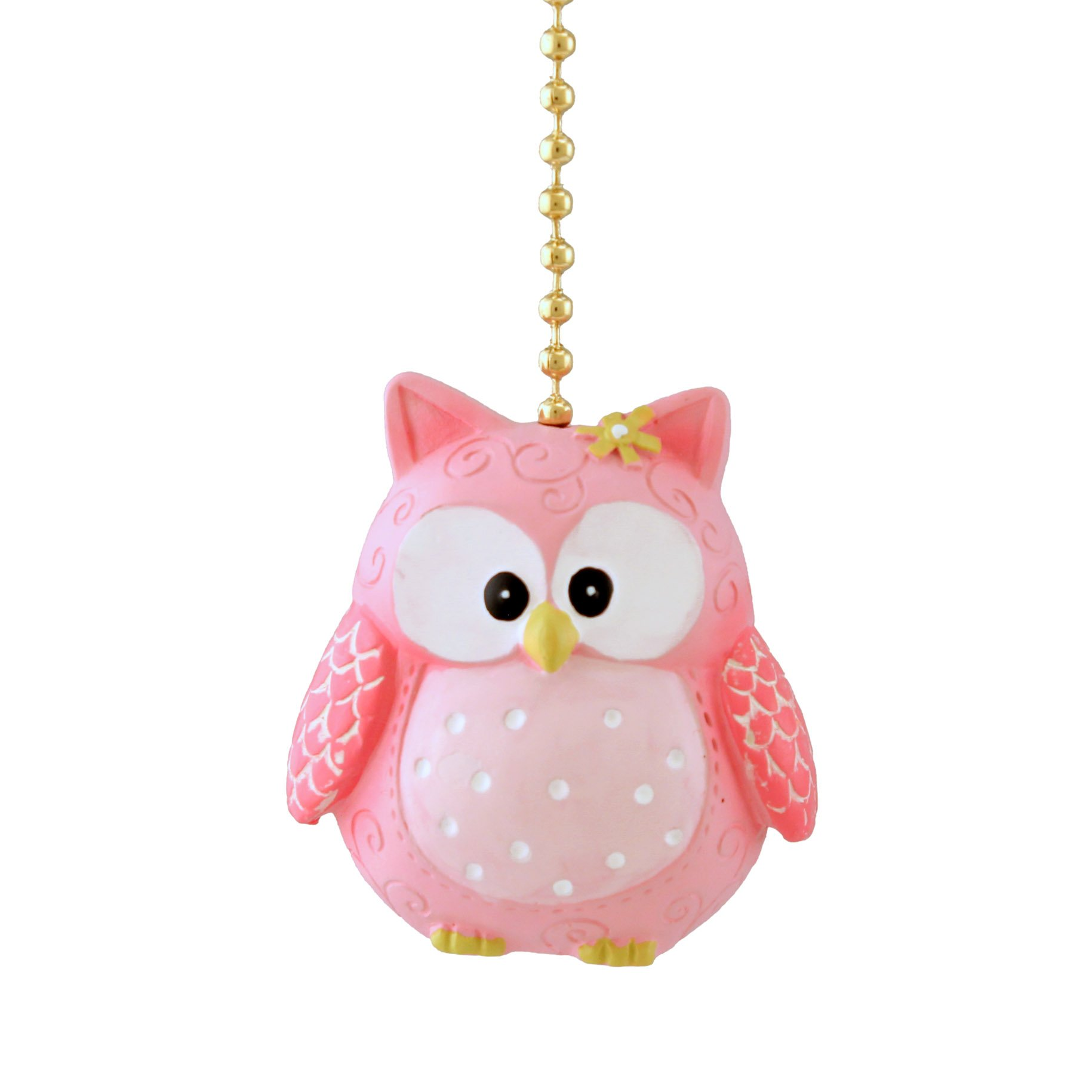 Clementine Design Pinky Owl Fan Pull