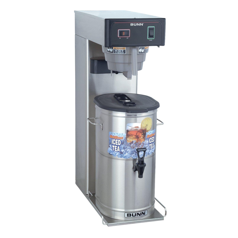 BUNN 36700.000899999999 3 gallon Iced Tea Brewer, Silver/Black