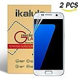 Pellicola Protettiva Samsung Galaxy S7, ikalula [Copertura Completa] HD Galaxy S7 Pellicola Vetro Temperato Galaxy S7 Film Protezione Screen Protector per Samsung Galaxy S7 (5,1'') - 2 pack