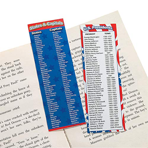 1 X Patriotic Bookmarks (4 Dozen) - Bulk