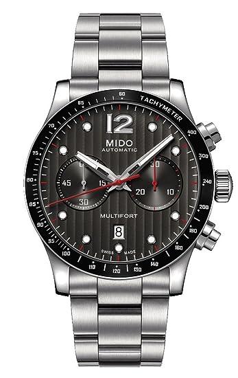 Mido Reloj Multiesfera para Hombre de Automático con Correa en Acero Inoxidable M025.627.11.