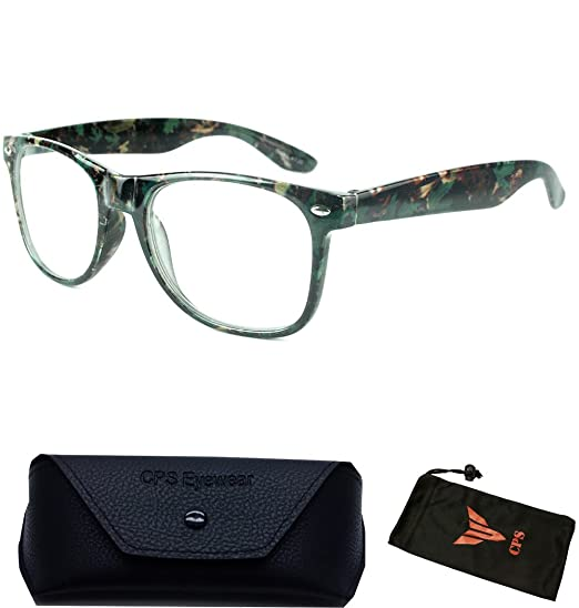 fe111cfcc4f Amazon.com  Camouflage Reading Glasses For Men Women Unisex +1.00 +1.50  +1.75 +2.00 +2.50 +3.00 +3.50   Selection +1.75   Clothing