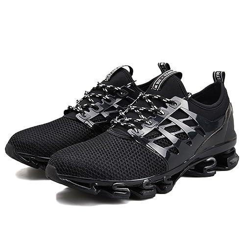 Hombres Zapatillas Zapatos Primavera Unisex Zapatos Amortiguación Transpirable para Correr Zapatos Casuales: Amazon.es: Zapatos y complementos
