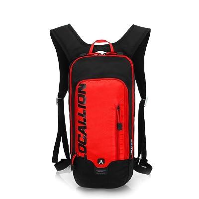 Sac à dos extérieur unisexe léger imperméable à l'eau durable respirant réfléchissant vélo sac à dos
