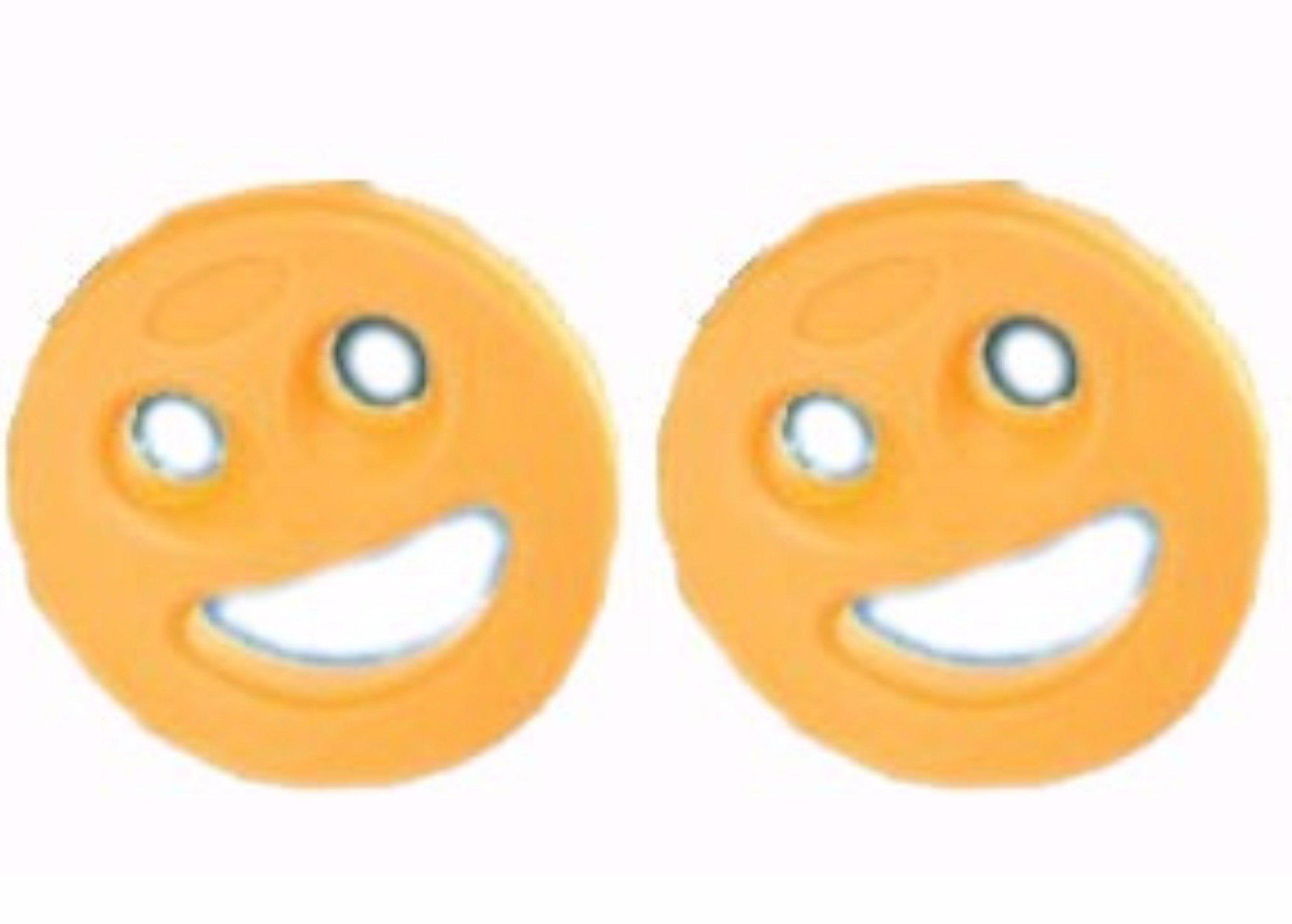 Orange Smile Fitness Exercise Aquadisc Foam Made Swimming Pool Floatable Dumbbell Hydrotherapy Arthritis Hand Buoy Rehab