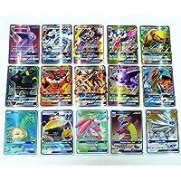 Carte Pokemon Sun and Moon(Soleil et Lune) - Carte rare 60 pcs GX Card, meilleur cadeau