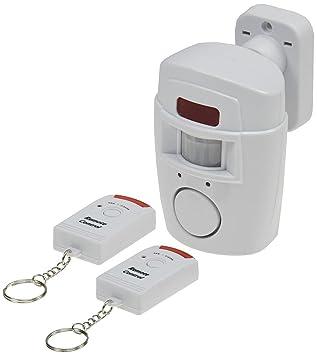 Alarma con PIR-sensor de movimiento