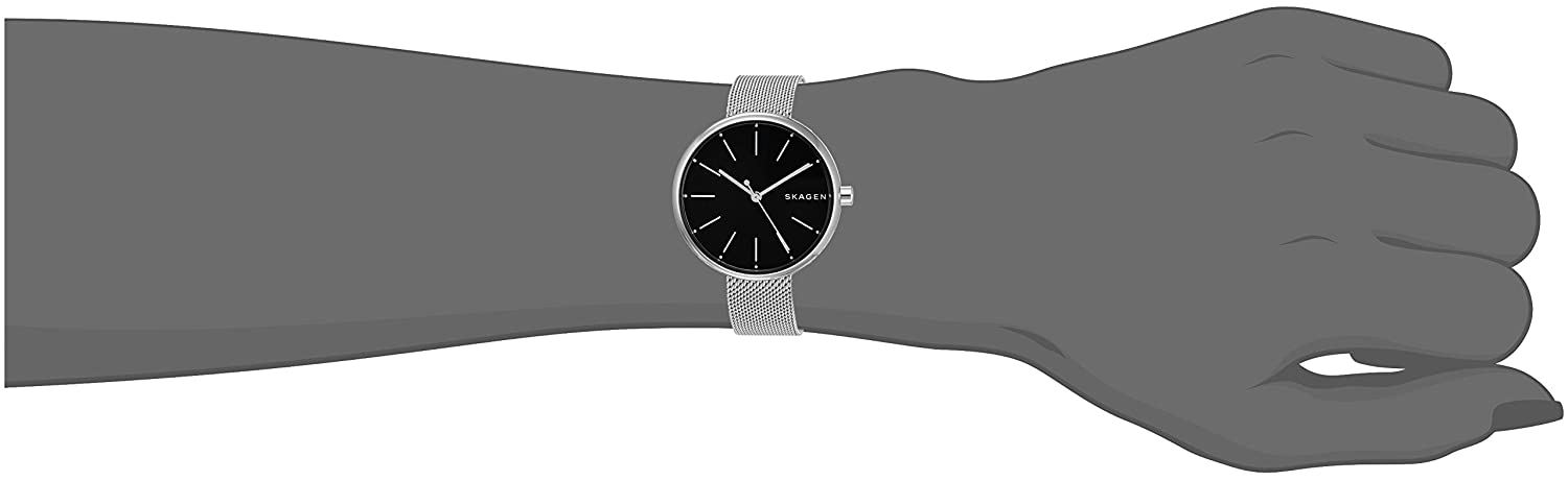 c452d7cd8fdf Amazon.com  Skagen Women s SKW2596 Signatur Steel-Mesh Watch  Skagen   Watches