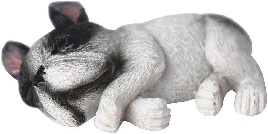 Haodene imanes frigor/ífico 4/pcs Mignon Sleepy Perros Nevera Im/án Hechos de Resina DIY decoraci/ón Accesorios