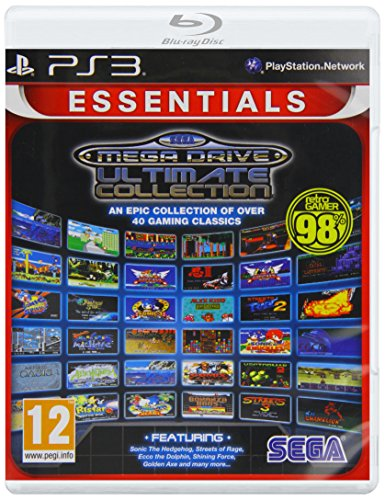 Sega Megadrive Ultimate Collection (essentials) /ps3 (Ecco The Dolphin Defender Of The Future)