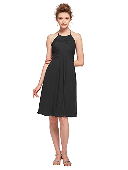Aw Short Cocktail Party Dresses Jewel Bridesmaid Dresses Chiffon