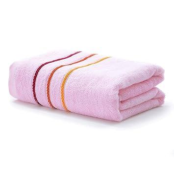 Toallas De Baño De Fibra De Bambú Para Hotel-Spa-Piscina-Gimnasio -1 Pieza-Cuatro Colores De 55.11 * 27.55 Pulgadas Con Característica Súper Suave (Color ...