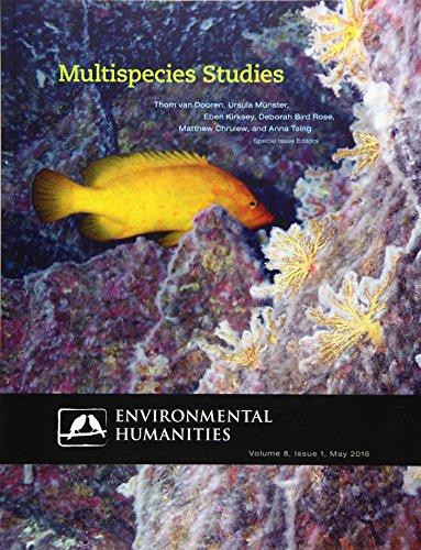 Multispecies Studies (Enviornmental Humanities, May 2016)
