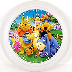 New Winnie the Pooh Wall Clock 10 Will Be Nice Gift and Room Wall Decor W198