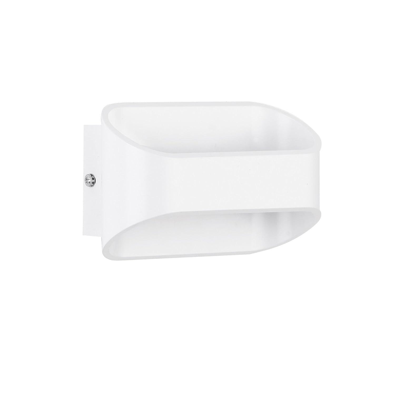 Wandleuchte Wandlampe Beleuchtung Flurlampe Wandstrahler Metall Weiß