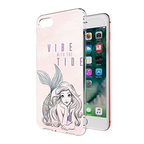 MTT Officially Licensed Disney Princess Ariel Soft Back Case Cover for Apple iPhone 8  amp; 7  D5113  Cases   Covers