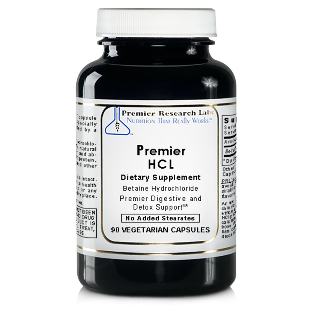 PREMIER RESEARCH LABS HCL - Provides Superior Digestive Support And Promotes Whole Body Detox (90 Capsules)
