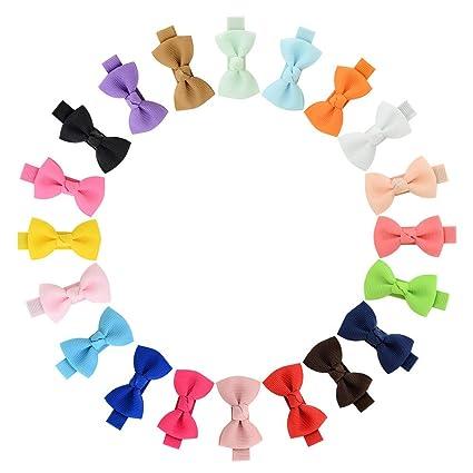 20Pcs 1.77 en bebé niña Lazos para el pelo Boutique cinta para adolescentes Niños Amigos …