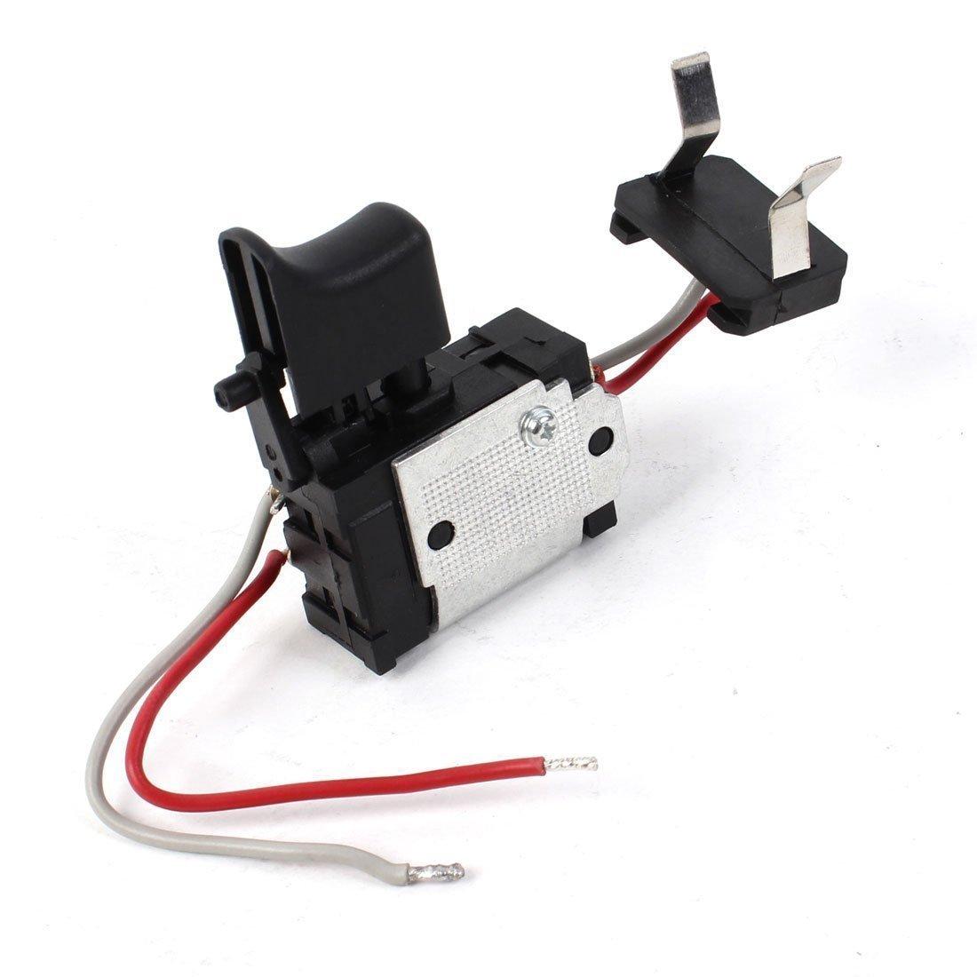 Sourcingmap a13112000ux0555-24vdc 5-15a actuador momentá neo taladro elé ctrico interruptor de cable