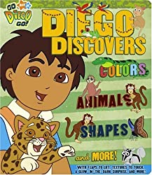 Diego Discovers Colors, Animals, Shapes & More ! (Go, Diego, Go!)